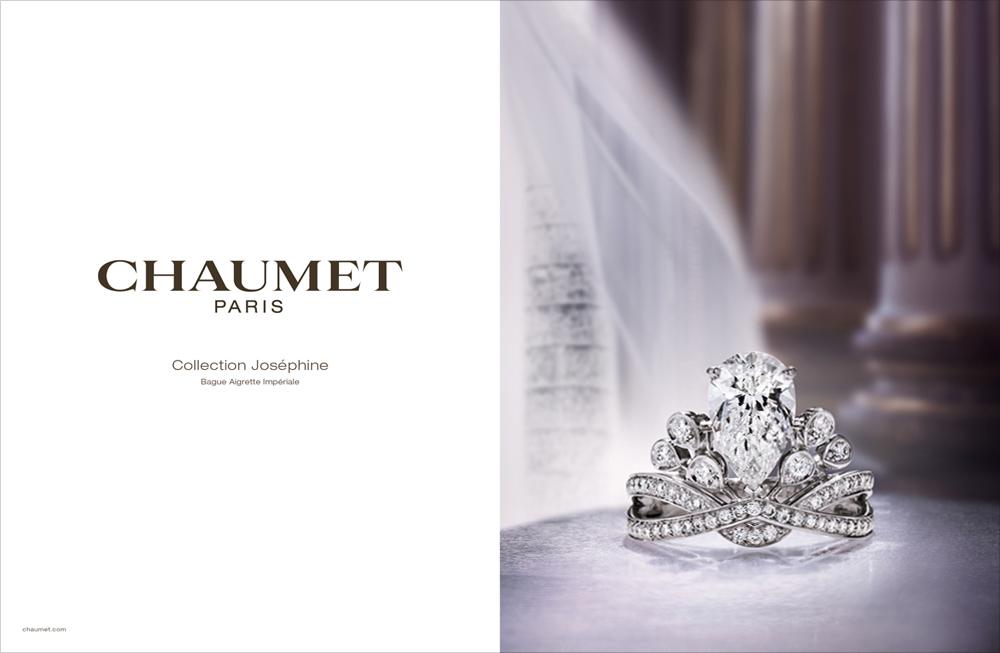 Chaumet Retail Design Luxury Printing Visual Advertising