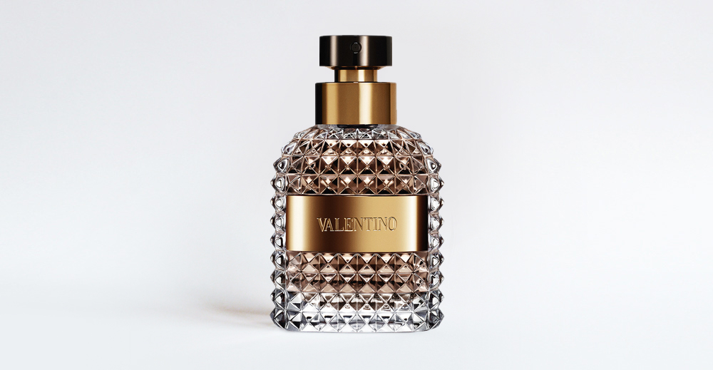Product Package Design for Valentino uomo man