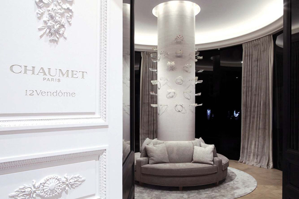 Interior Design for Chaumet