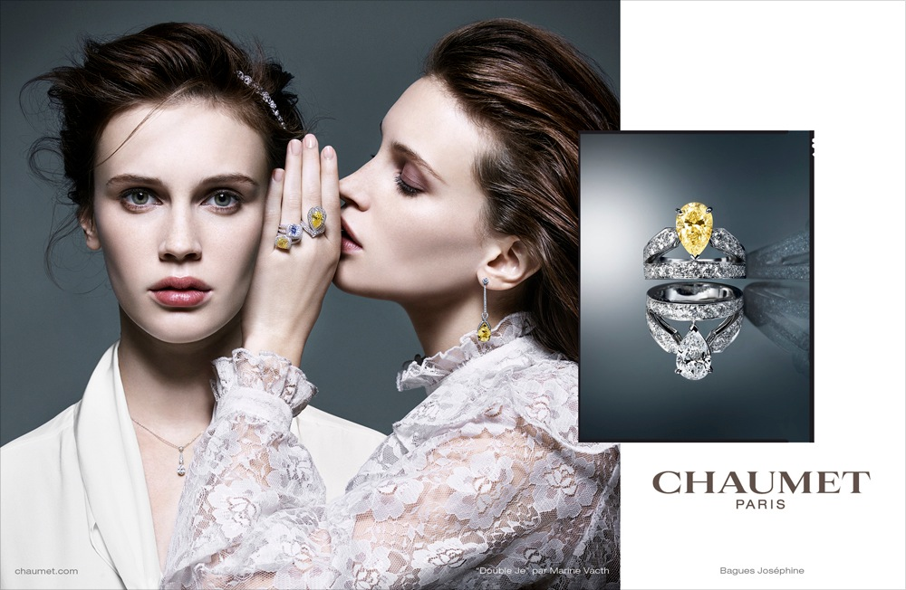 Brand Visual Advertising for Chaumet Paris Josephine collection tiara ring