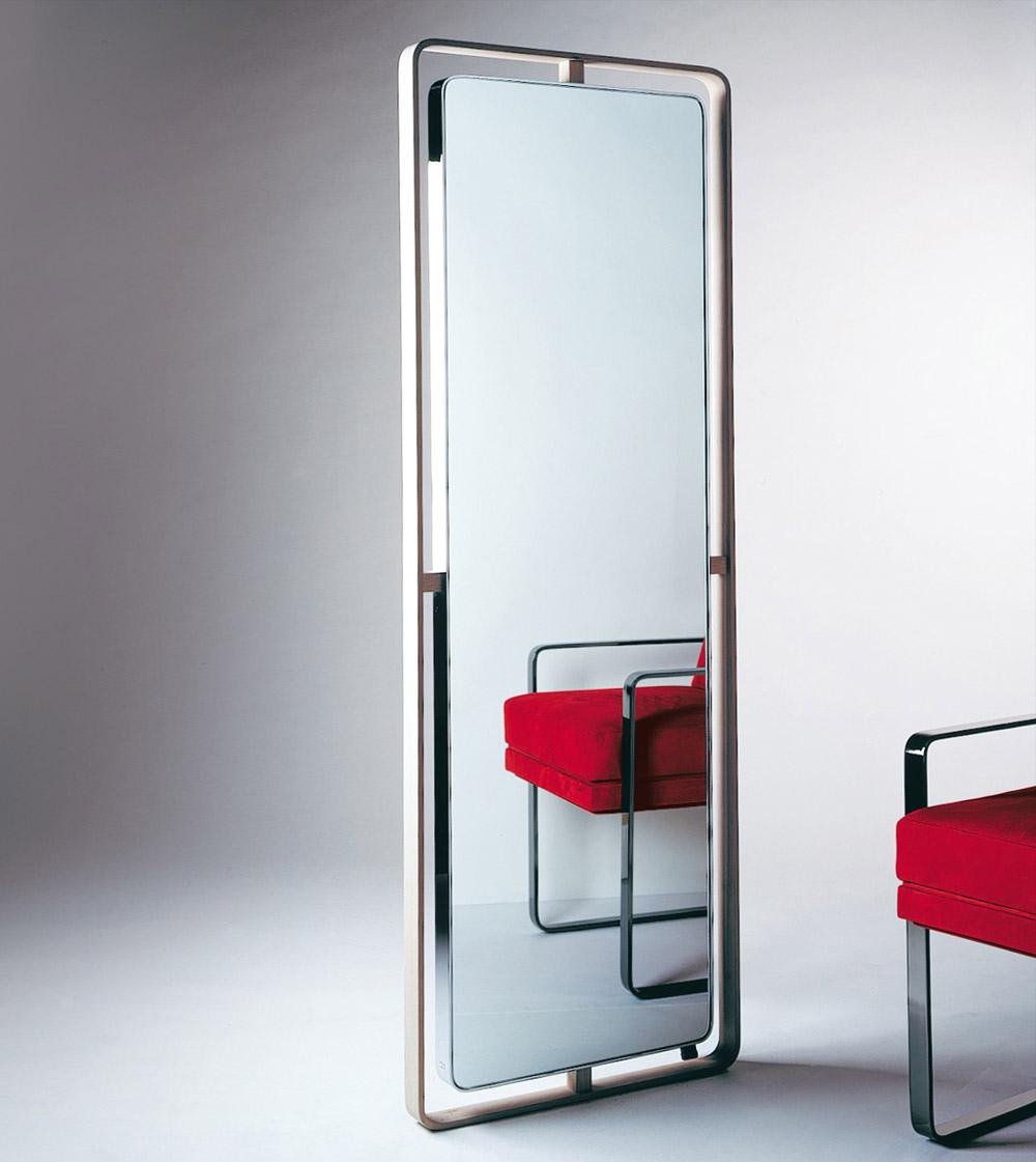 Custom interior design luxury home decor miroir double peau