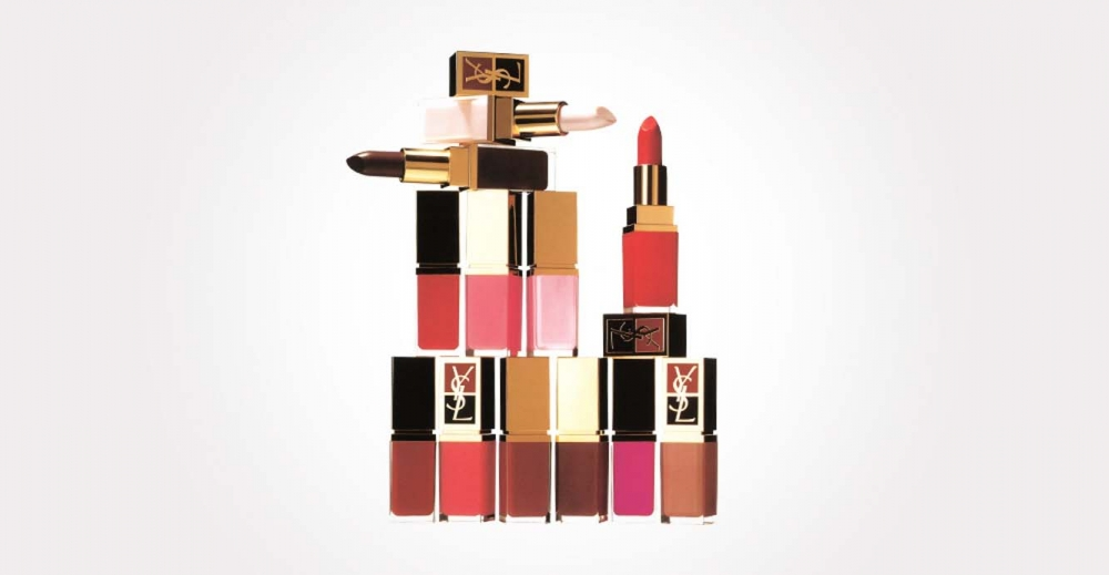 Product Package Design for YSL cosmetics liptick colors