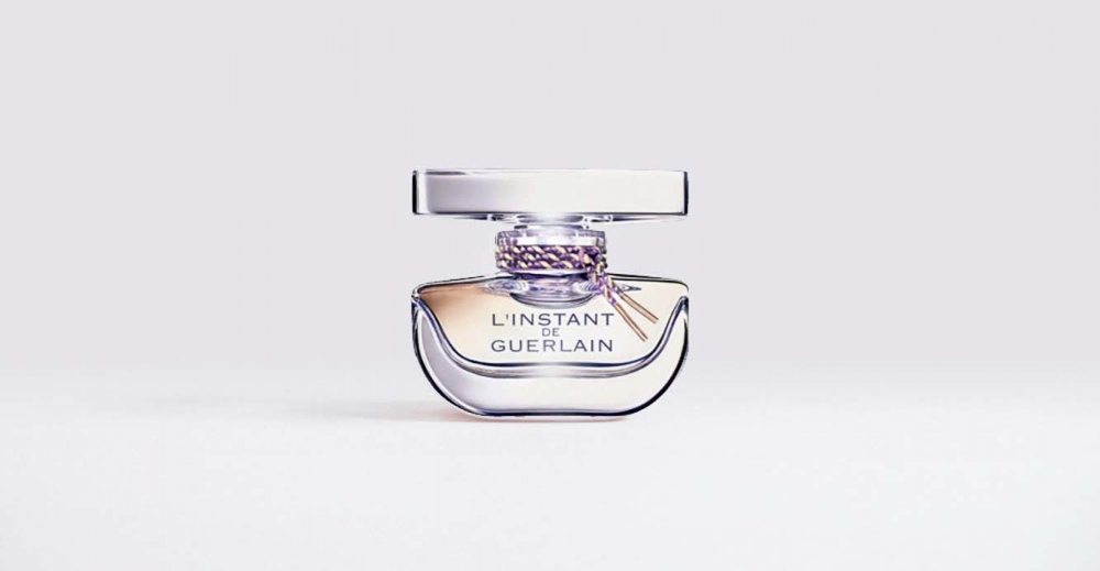 Product Package Design for Guerlain l'instant de Guerlain woman short bottle