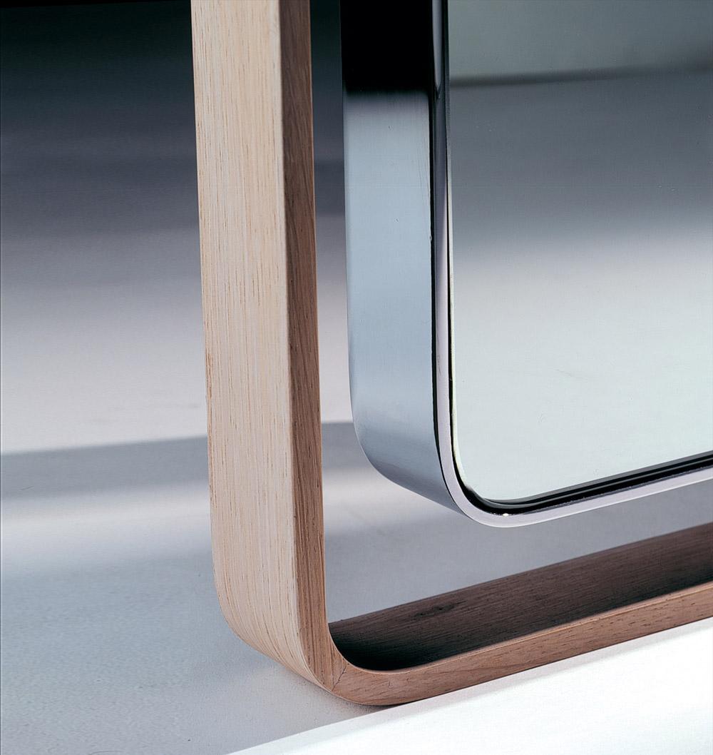 Custom interior design luxury home decor miroir double peau close up corner