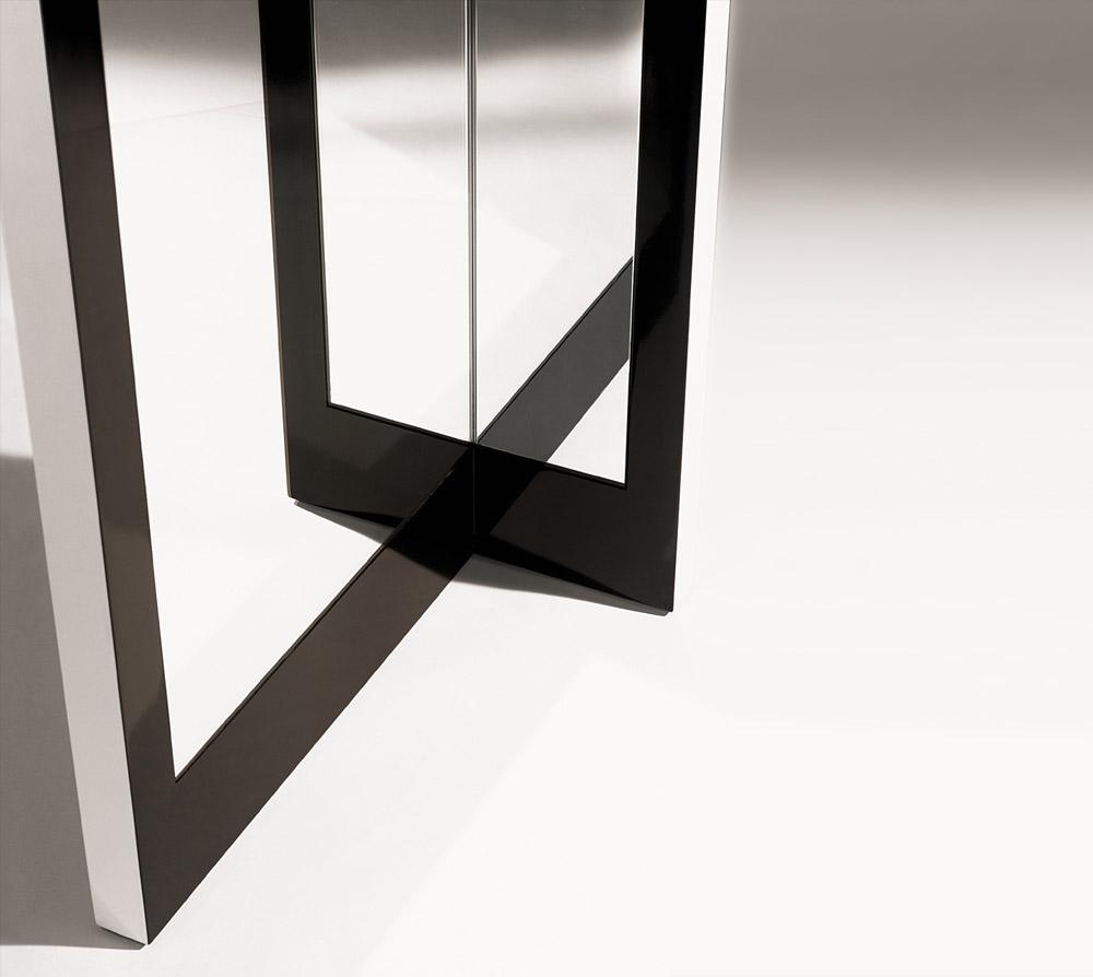 Custom interior design luxury home decor miroir auto portant close up