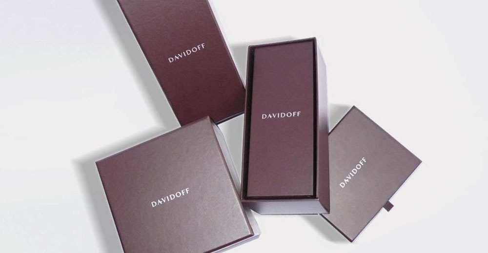 Brand Visual Advertising for Davidoff
