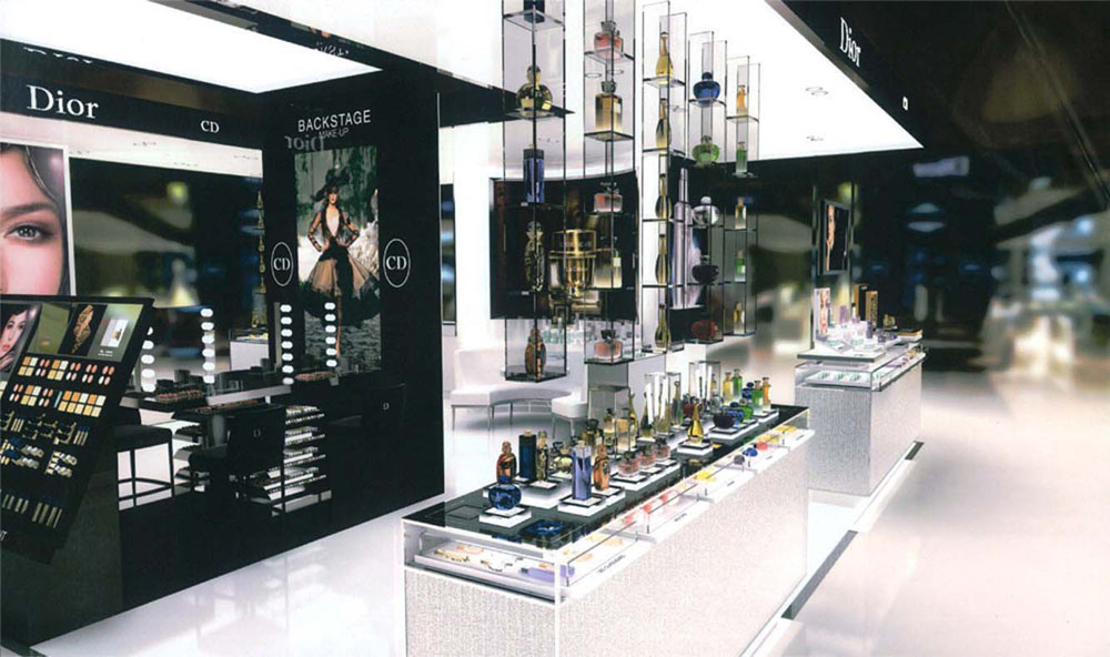 Interior Design for Dior beauty
