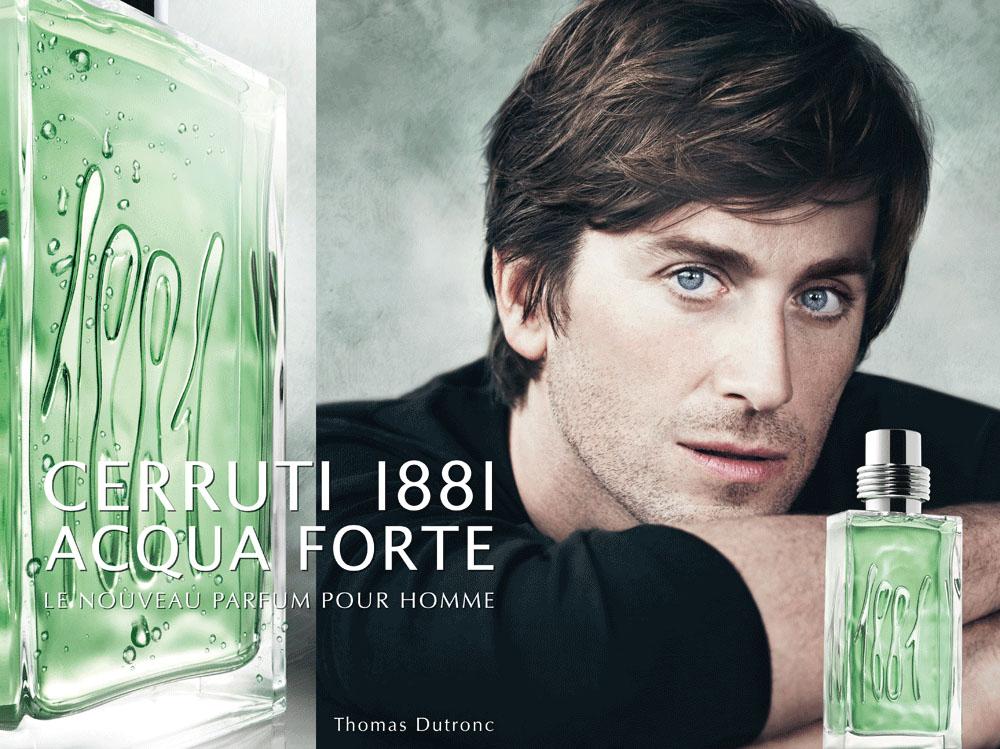 Brand Visual Advertising for Cerruti Thomas Dutronc