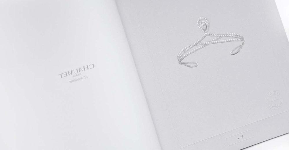 Chaumet Chaumet Paris portfolio book Limited Edition tiara