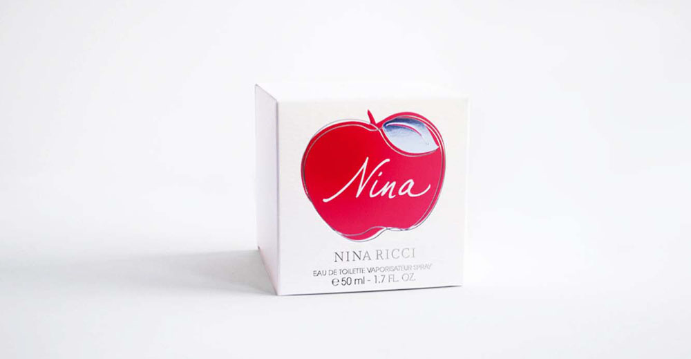 Brand Visual Advertising for Nina Ricci