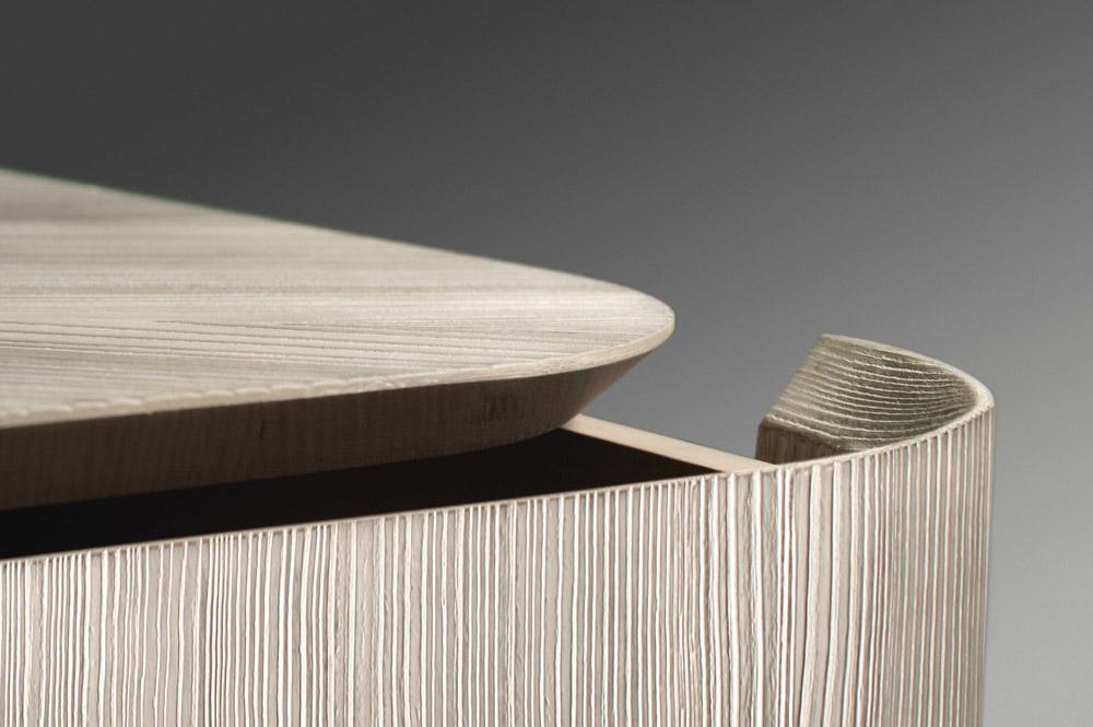 Custom furniture design luxury home decor wood commode close up