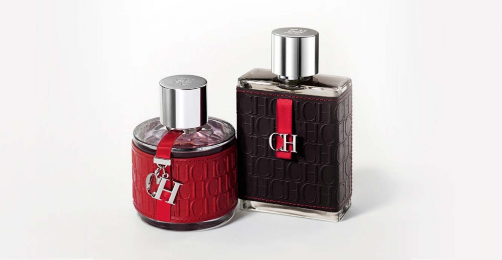 Product Package Design for Carolina Herrera CH woman CH man