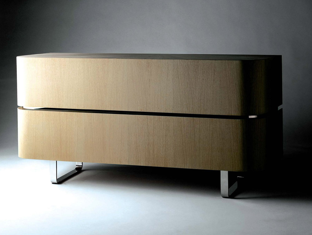 Custom furniture design luxury home decor wood XL commode