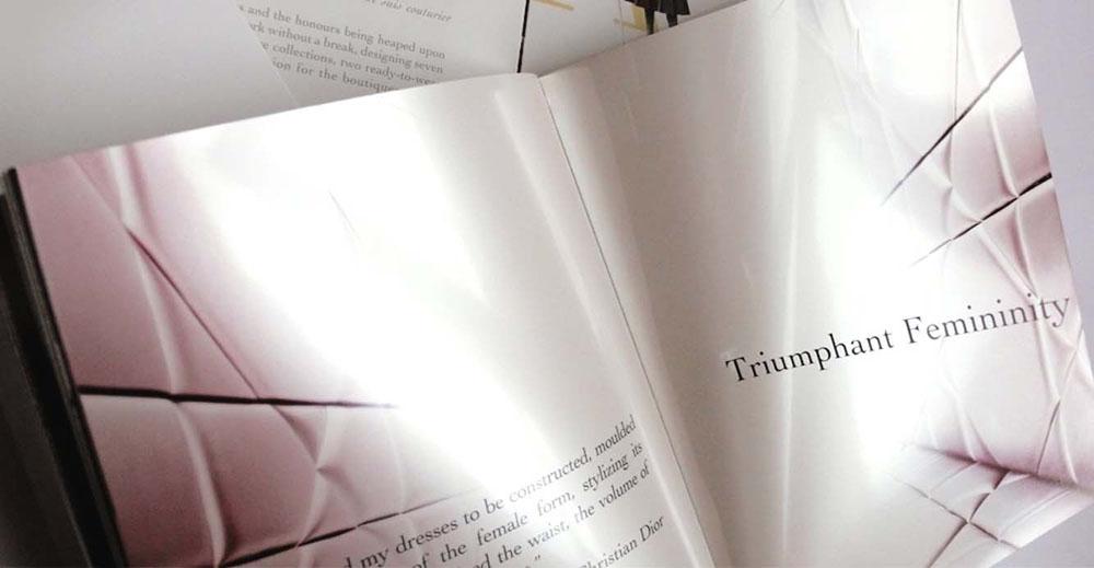 Portfolio Brand Book Fashion Book design for Dior Christian Dior