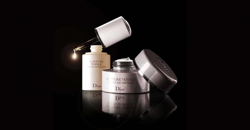 Product Package Design for Dior Skin capture totale haute nutrition nurturing oil-treatment multi-perfection