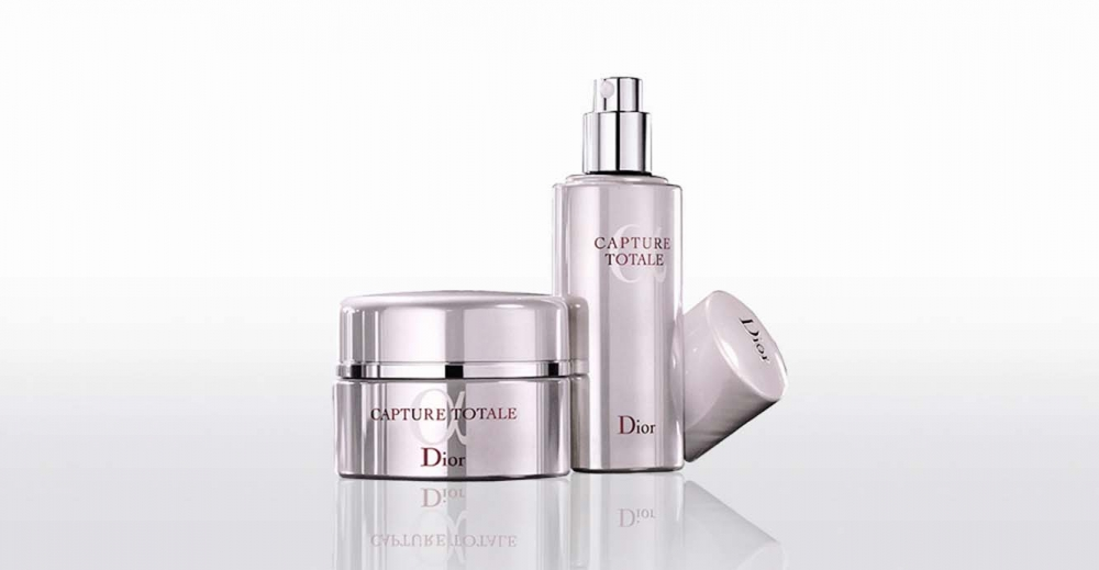 Product Package Design for Dior Skin capture totale haute nutrition multi-perfection multiple perfection concentrate