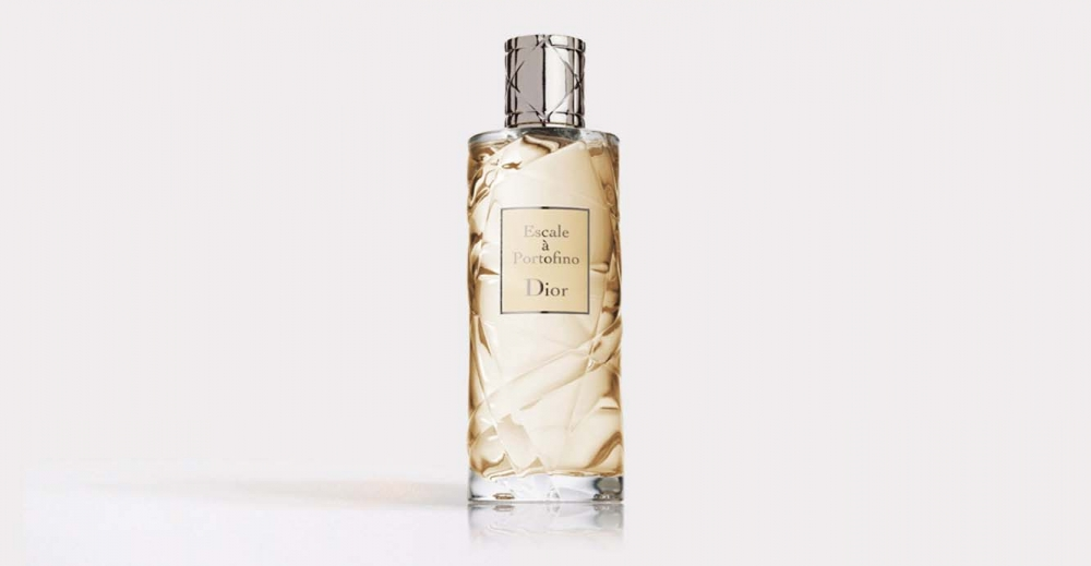 Product Package Design for Dior fragrance cruise collection escale a portofino woman