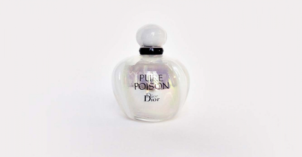 Product Package Design for Dior fragrance Pure Poison Elixir woman