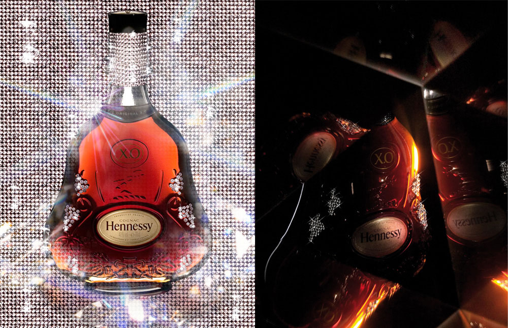 Brand Visual Advertising for Hennessy