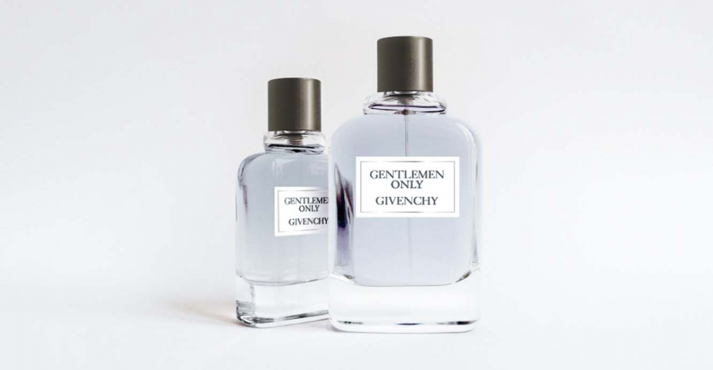 Product Package Design for Givenchy gentlemen only two sizes