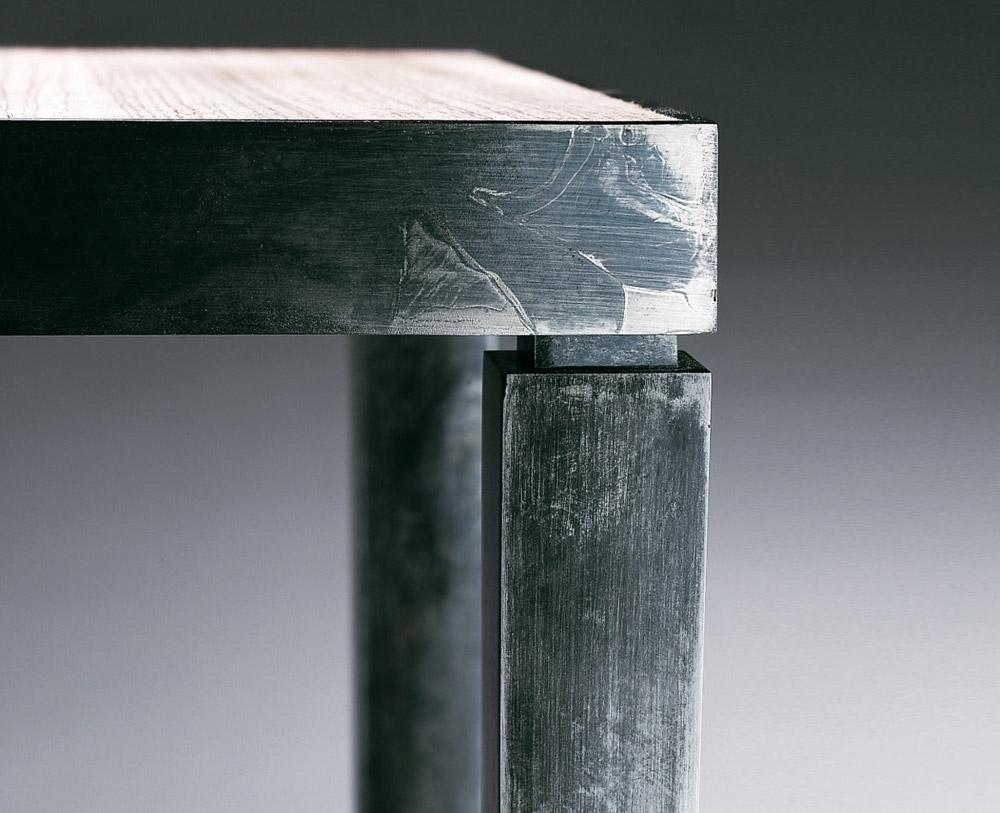 Custom furniture design luxury home decor console C12 table wood console table corner close up