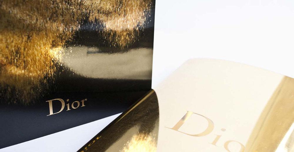 Dior fragrances brand book catalog