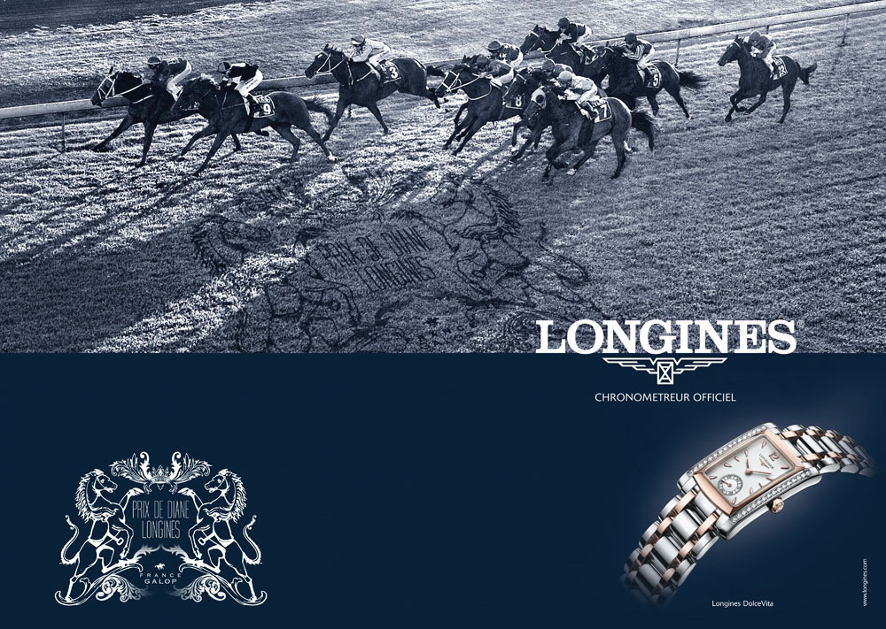 Brand Visual Advertising for Longines