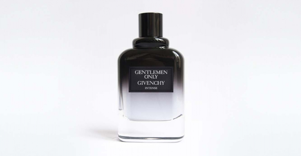 Product Package Design for Givenchy gentlemen only intense bottle