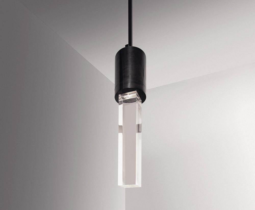 Custom interior design home decor hanging suspension bloc light