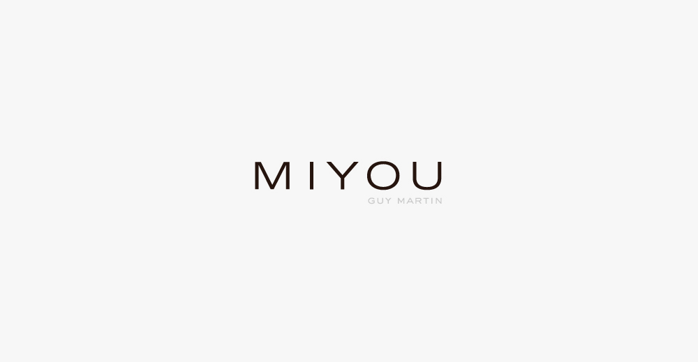 Brand Visual Advertising for Miyou Guy Martin