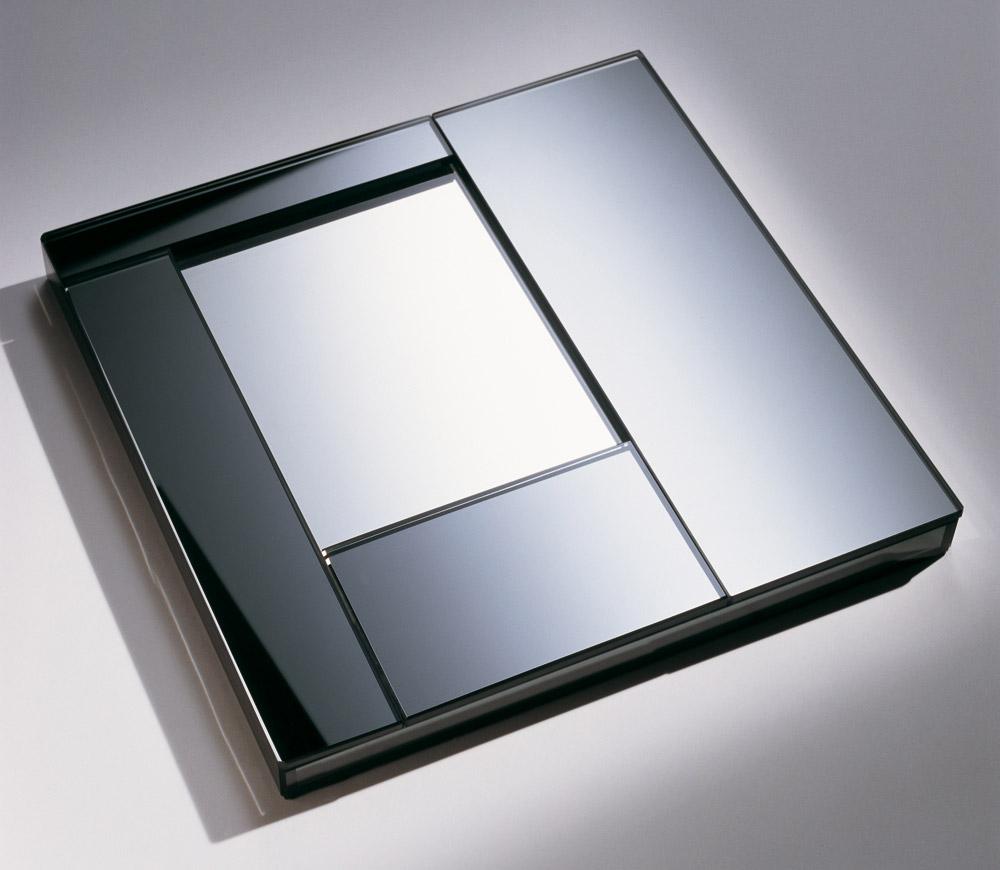 Custom furniture design luxury home decor cendrier miroir mirror ashtray
