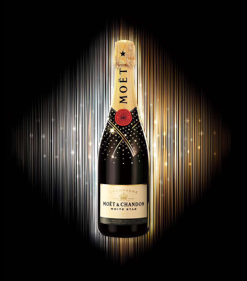 Brand Visual Advertising for Moet & Chandon
