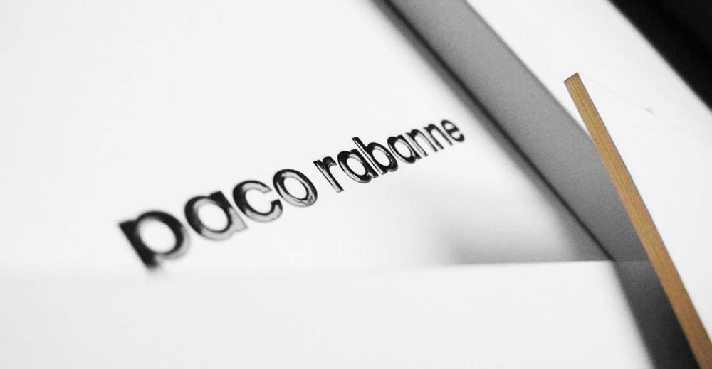Portfolio brand book for Paco Rabanne Fall/Winter collection 2013