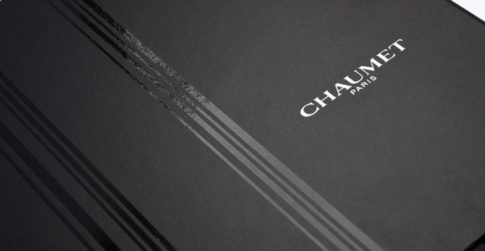 Portfolio book design for Chaumet Paris Watches collection