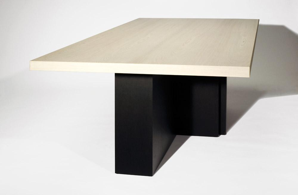 Custom furniture design luxury home decor table la blonde wood table blonde wood