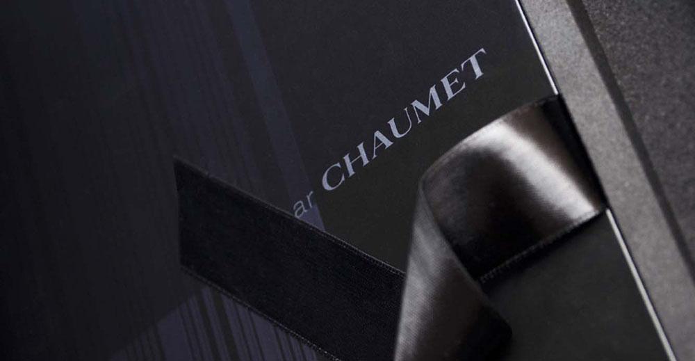 Portfolio book design for Chaumet Paris Watches Dandy collection