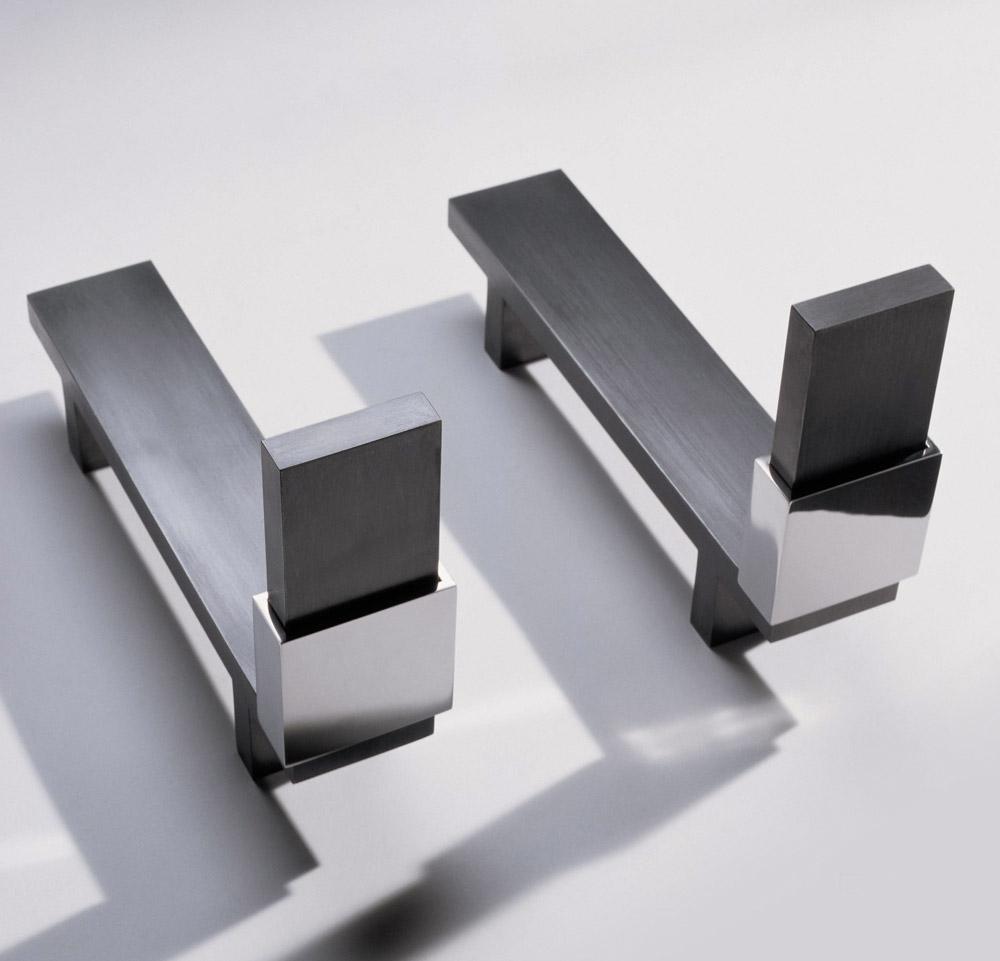 Custom furniture design luxury home decor chenets bague andirons