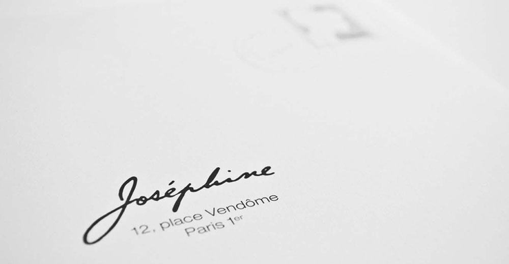Portfolio book design for Chaumet Paris Josephine collection