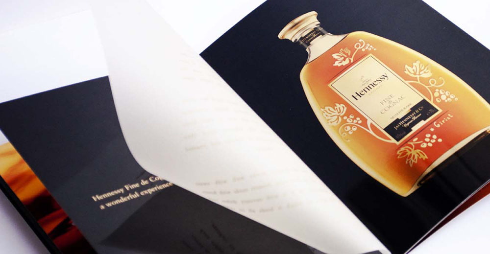 Special Edition brand book Hennessy Cognac Limited Edition 2007