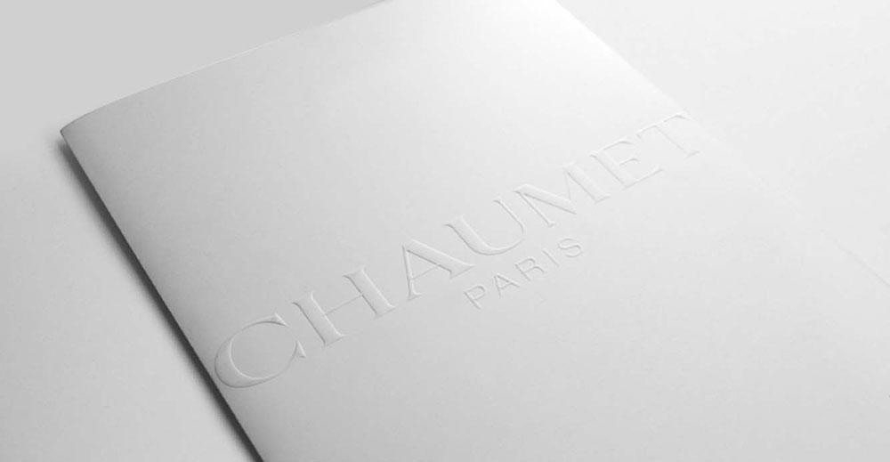 Portfolio book design for Chaumet Paris Attrape-moi collection