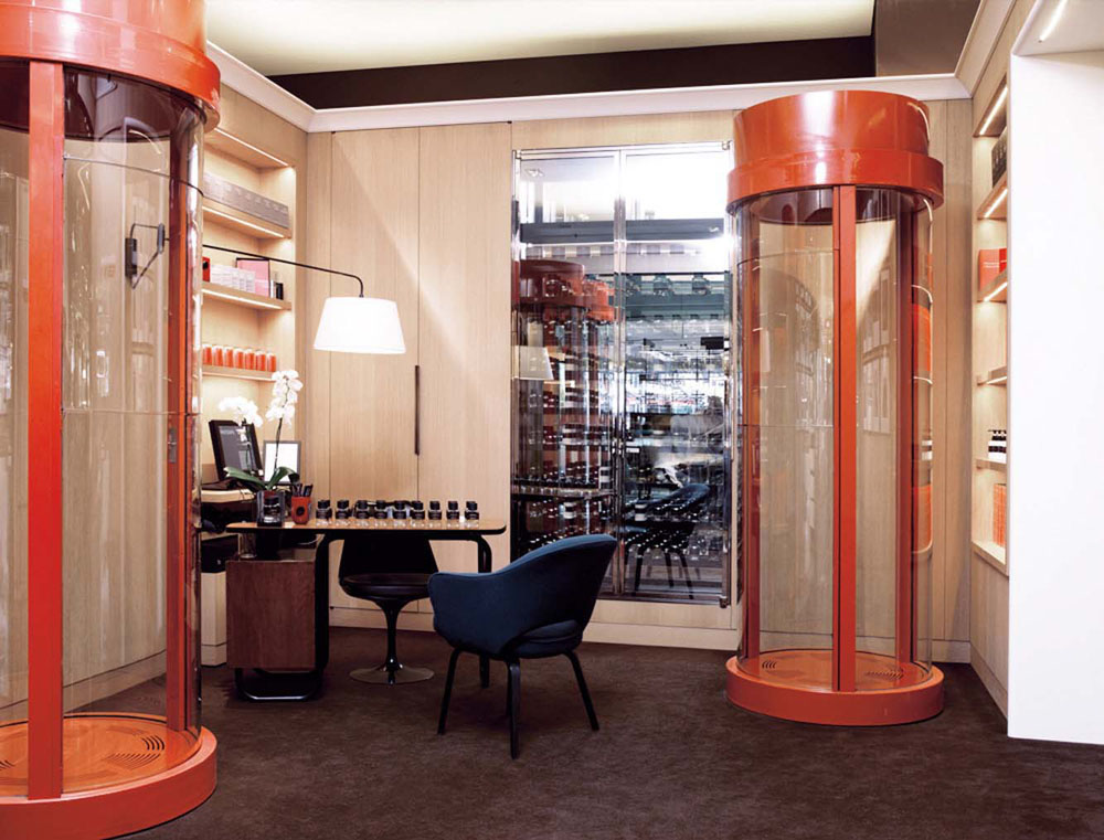 Interior Design for Frederic Malle store